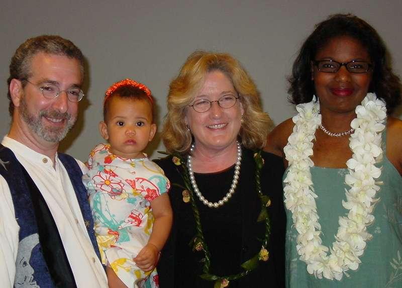 A family. Thank you, Randi Barrow, adoption attorney.