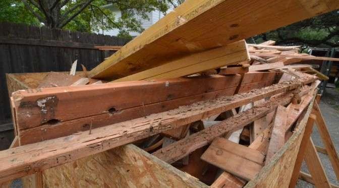 Getting rid of termite damage