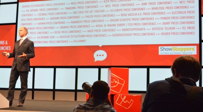 The IFA 2015 opening press conference