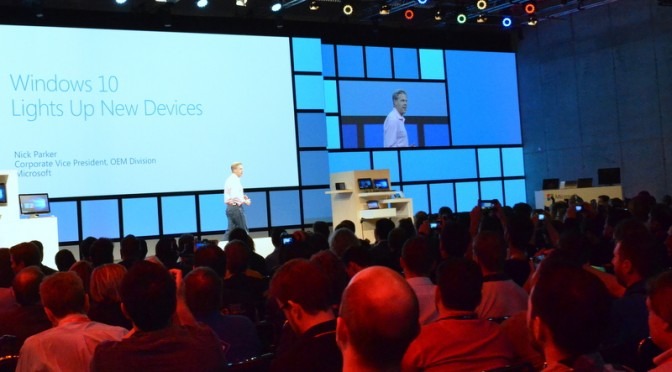 Microsoft keynote at IFA 2015