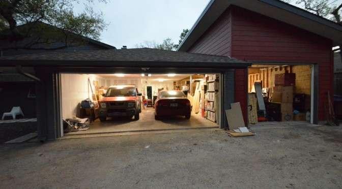 Hail, garage!