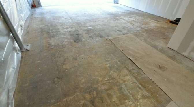 Transforming the garage floor
